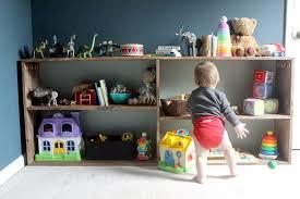 Montessori Bedroom Toddler Montessori Inspired Diy Toy Shelf For Abe