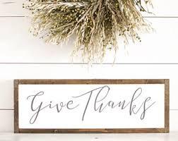 thanksgiving sign etsy