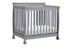 Mini Crib Vs Regular Crib Davinci Kalani Mini Crib Grey N Cribs
