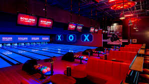 black light bowling near me bowling alley arcade at chelsea piers bowlmor