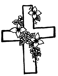 drawings of crosses with flowers cross flowers cliparts free