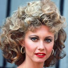 olivia newton john hairstyles olivia newton john s perm in grease the most iconic celebrity