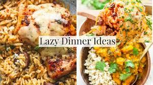 October Dinner Ideas Easy Family Dinner Ideas For Lazy Days Youtube