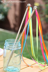 ribbon wands how to make a ribbon wand for children my frugal adventures
