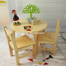tiger wooden furniture round table with chairs