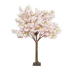 artificial cherry blossom tree with artificial trunk 180cm 6ft