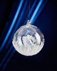 handmade annual ornament blown glass