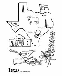 texas outline coloring cm pal ideas