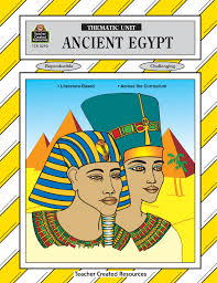 amazon com ancient egypt thematic unit thematic units workbook