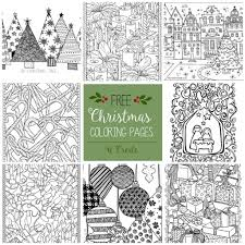 christmas christmasree coloring photo inspirations pages