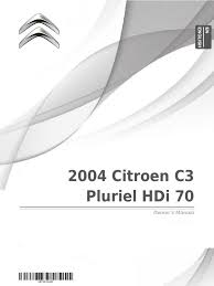 2004 citroen c3 pluriel hdi 70 owner u0027s manual traffic collision
