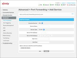 auto port forwarding tool answered how to set up port forwarding on your comcast provided modem