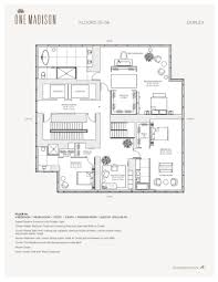 new miami residences eighty seven park penthouse floor plan