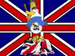 free desktop wallpaper british flag the simpsons the who uk