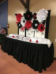 Black And Red Party Decorations Decorate This Cute Black Red White Party Decor Few Of My