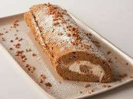 pumpkin roll cake recipe paula deen food network