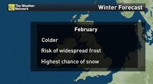 news winter 2016 uk weather forecast the weather network