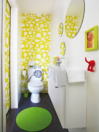 amusing kids bathroom sets ideas feats minimalist fixtures and wall mounted sink cabinet design with black floor feat cool wallpaper plus amazing kids bathroom sets