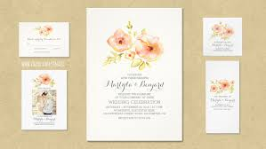 discount wedding programs read more painted watercolor flowers rustic and