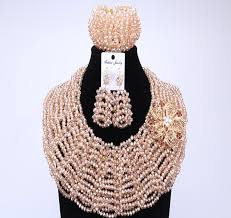 indian bridal necklace images Newest dubai jewelry sets with red flowers indian bridal jewelry jpg