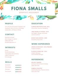 resume header green header graphic design resume templates by canva