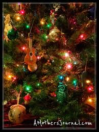 musical brown christmas tree christmas tree party and a few guitar christmas ornaments amj