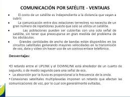 imagenes satelitales caracteristicas comunicación satelital ppt descargar