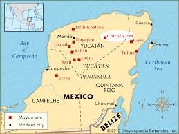 Cabo San Lucas Mexico Map by Where Is Chichen Itza On A Map Of Mexico You Can See A Map Of