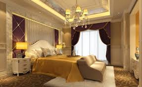designing interior neoclassical bedroom wall and ceiling
