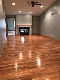 what color of flooring goes with honey oak cabinets behr weathered moss honey oak hardwood floors hardwood