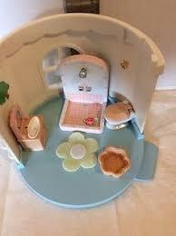 Calico Critters Bathroom Set Epoch Sylvanian Families Sylvanian Family Washing Machine Ka 624