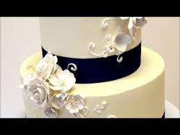 buttercream wedding cake ideas youtube