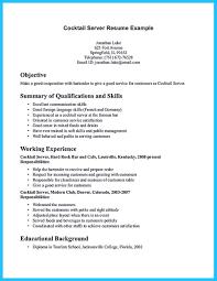 sle resume for bartending position nice impressive bartender resume sle that brings you to a