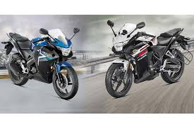 honda cbr bikes list 2015 honda cbr 150r and 250r prices revealed the financial express