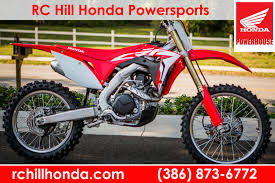 motocross bikes on finance dirt bikes rc hill honda powersports deland fl 866 430 1177