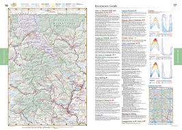 Map Oregon Washington State Stock by Washington Benchmark Road U0026 Recreation Atlas Benchmark Maps