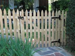 picket fence and gate design u2013 outdoor decorations