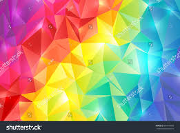 abstract rainbow color background stock vector 607478855