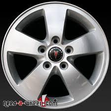 stock camaro rims 16 pontiac grand prix wheels oem 05 08 silver factory rims 6587