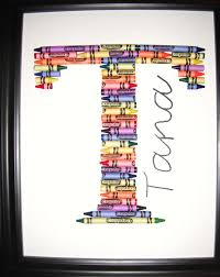 monogram letter t crayon letter t or monogram your preference things i ve made