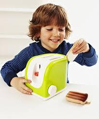 Elc Wooden Toaster Set Magic Toaster Toy Kitchen Accessories Elc