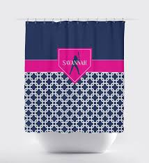 home plate softball shower curtain for girls chain link u2013 shop