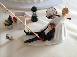 fishing wedding cake toppers whimsical wedding cake toppers chalet on the hudson