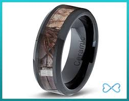 Mens Hunting Wedding Rings by Camo Wedding Band Ceramic Mens Ring Mens Wedding Bands Camo Rings