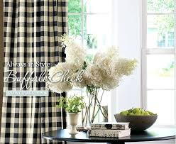 Black Check Curtains Black And White Checkered Curtains Best Buffalo Check Images On