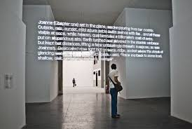 the changing light at sandover cerith wyn evans opened with neon text from the changing light at