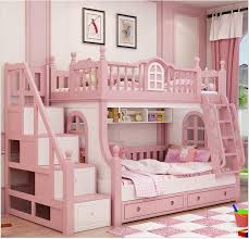 Cheap Bunk Bed Buy Quality Bed Girl Directly From China Princess - Pink bunk bed