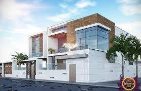 Modern Exterior Design by Luxury Villa Exterior Design
