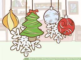 how to create a wintery and snowy christmas tree without flocking it