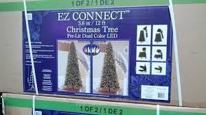 costco christmas tree christmas lights decoration